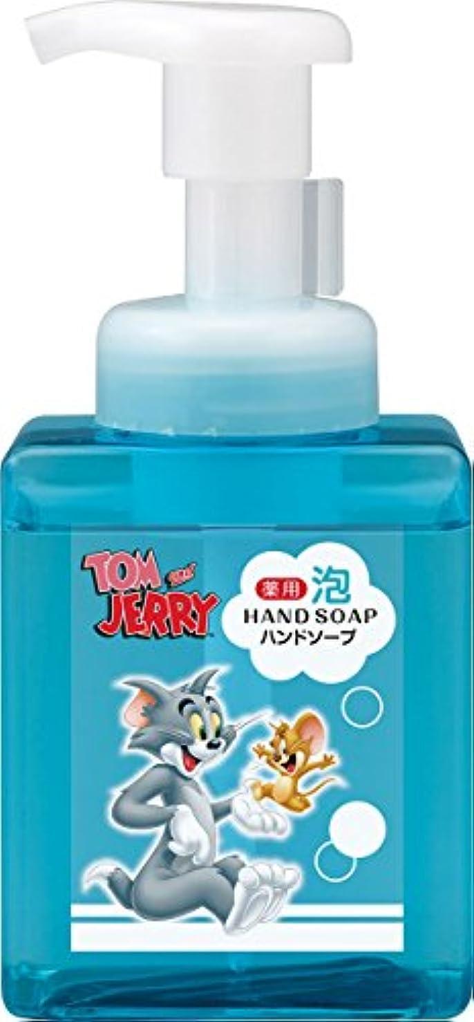 共同選択親指戦闘熊野油脂 トムとジェリー 薬用 泡ハンドソープ 250ml