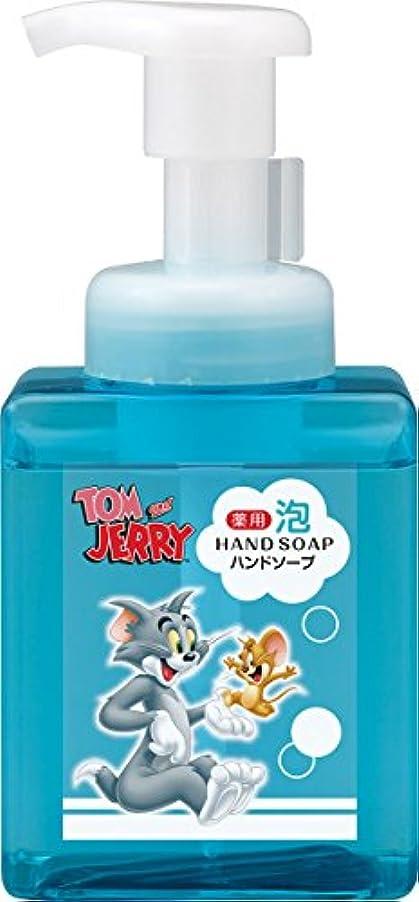 運動周辺ヘロイン熊野油脂 トムとジェリー 薬用 泡ハンドソープ 250ml