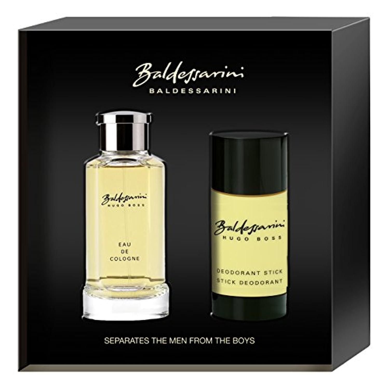巨大な拒絶霜バルデッサリーニ Baldessarini Coffret: Eau De Cologne Spray 75ml + Deodorant Stick 40ml 2pcs