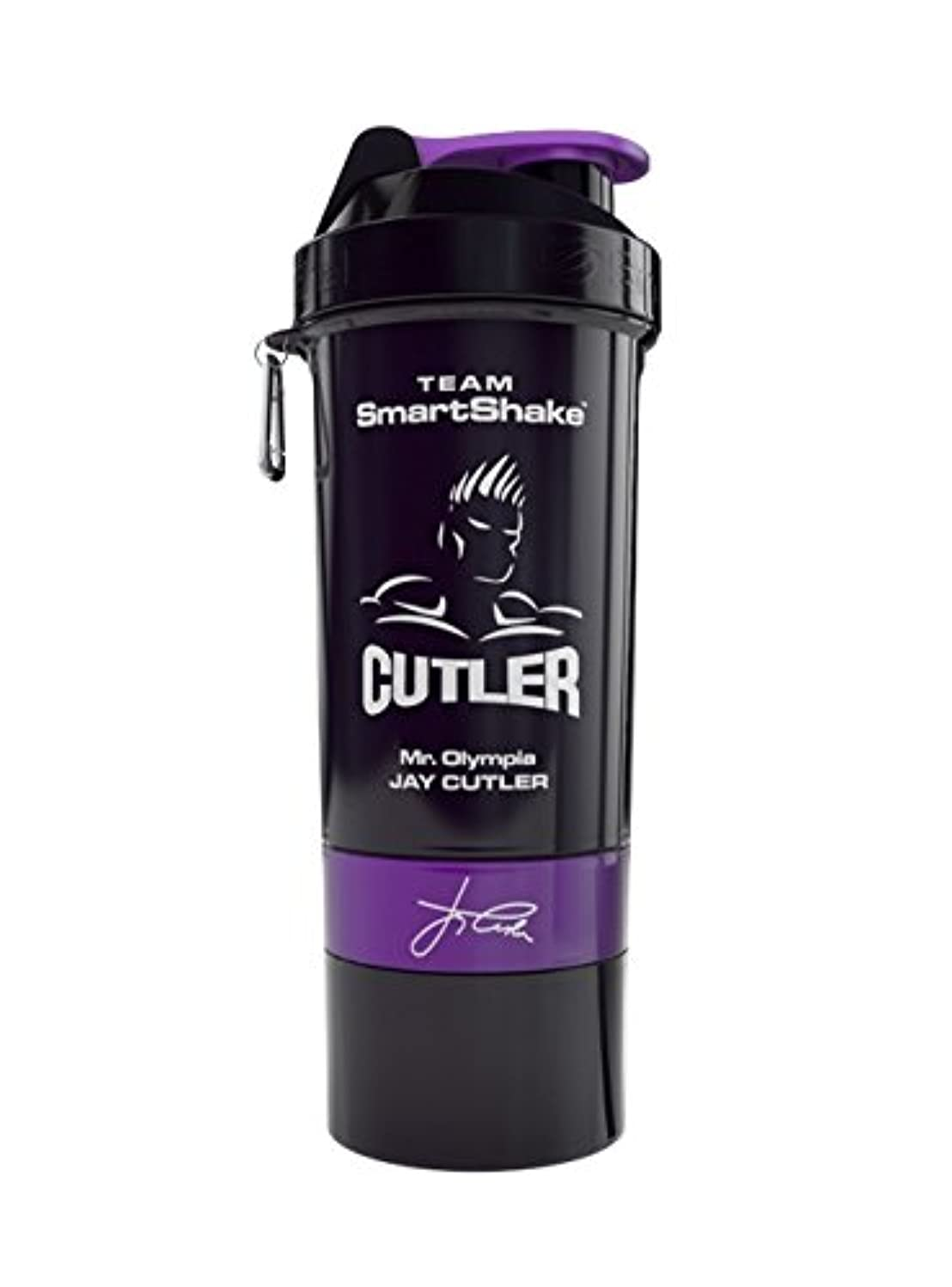 失業メタルライン強盗Smart Shake Shaker Cup Jay Cutler 27 oz by smartshake