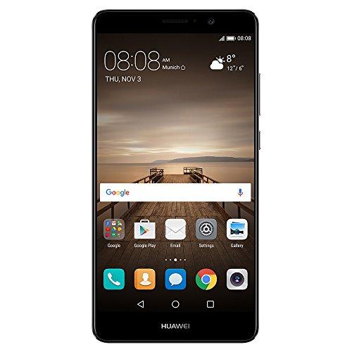 Huawei 5.9型 Mate9 SIMフリースマートフォン シャンパンブ...