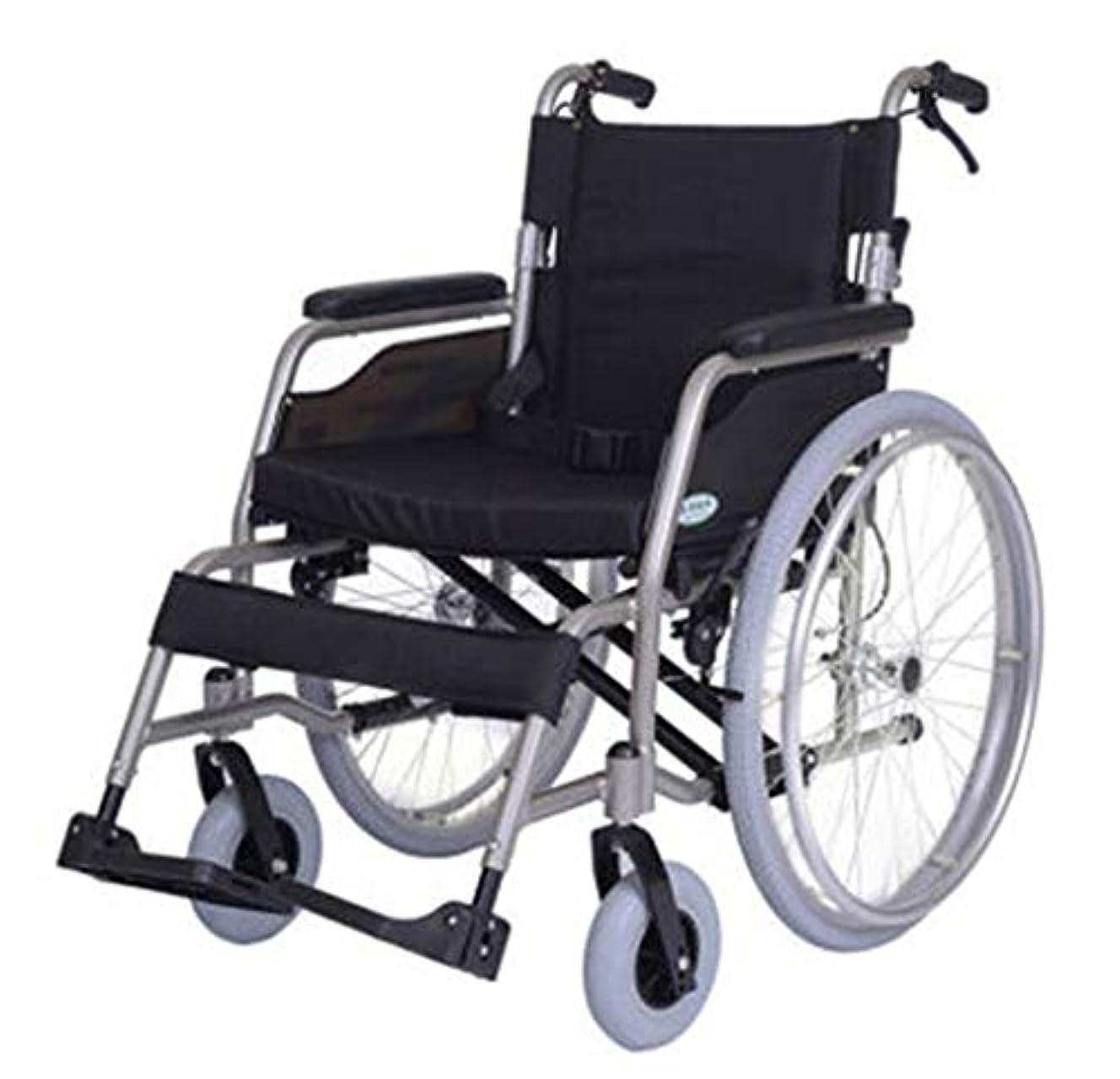 うまくいけば素子ラジエーター車椅子のシート幅を50センチに広げ、折りたたみ式車椅子、高齢者が旅行するのに適している