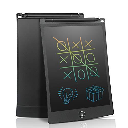 電子メモ レインボーディスプレイ 8.5インチ NEWYES 薄型 デジタルメモ 手書きパッド ペン付き 磁石付き ストラップホール機能 電池交換可能 お子様の画板 計算 落書き 筆談 伝言板 デジタルペーパー