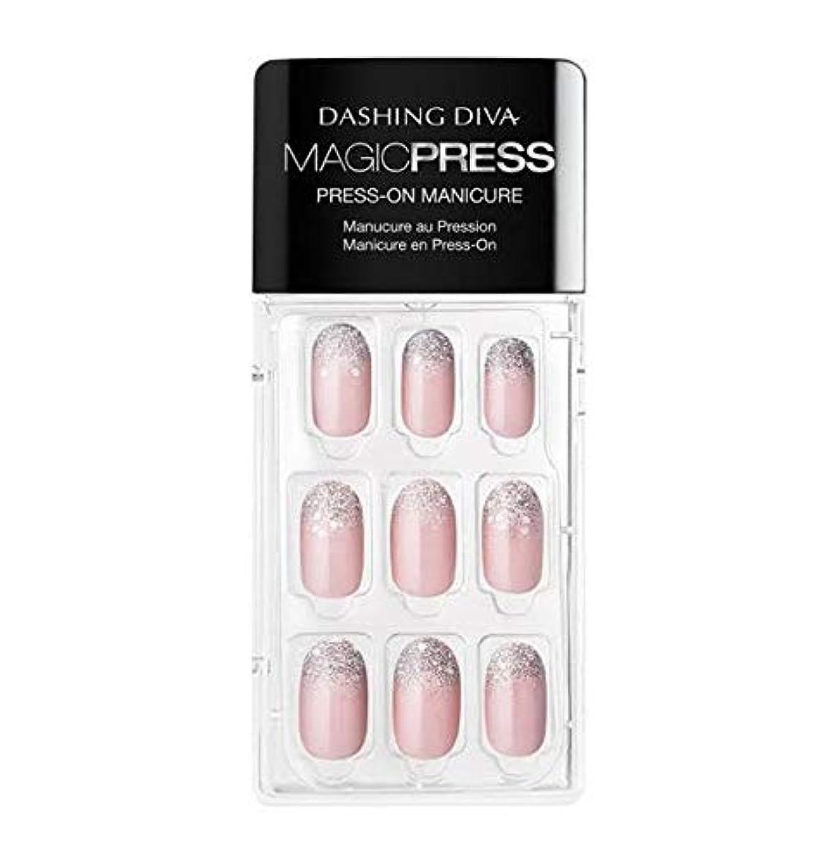 保証金ジョージエリオットスキニーDashing Diva - Magic Press - Press-On Manicure - Lighten up - 30 Pieces