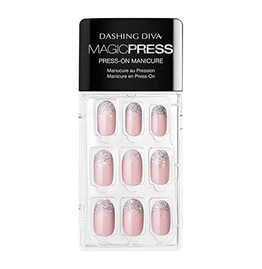 家禽見せます剪断Dashing Diva - Magic Press - Press-On Manicure - Lighten up - 30 Pieces
