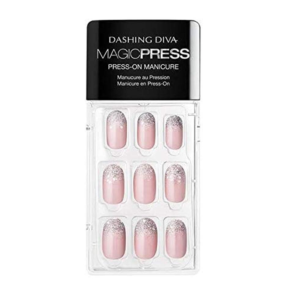 財団ベテラン原子炉Dashing Diva - Magic Press - Press-On Manicure - Lighten up - 30 Pieces