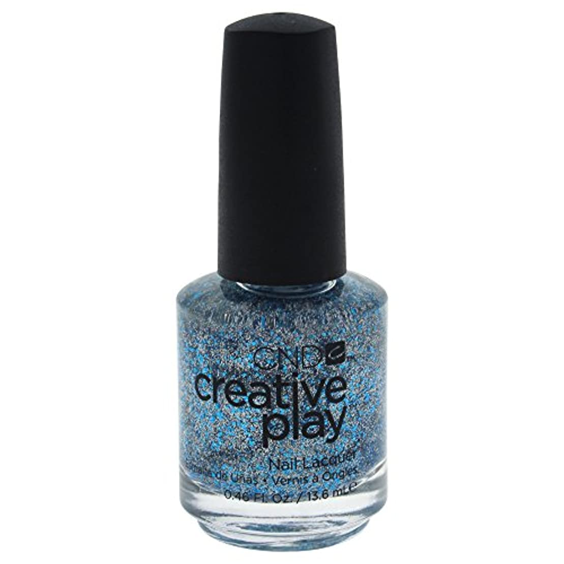 女優事前所属CND Creative Play Lacquer - Kiss + Teal - 0.46oz / 13.6ml