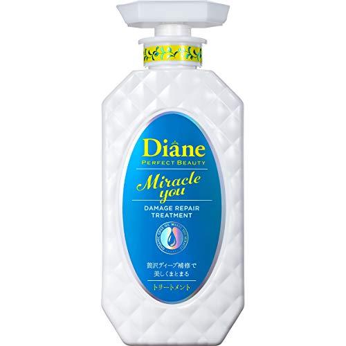モイスト・ダイアン Moist Diane ダイアンパーフェクトビューティー ミラクルユー トリートメント 本体 450ml シャイニーフローラル