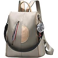 Women Nylon Backpack Purse waterproof Anti-theft Handbag Rucksack Lightweight Travel School Shoulder Bag