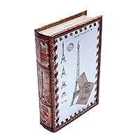 ブック型収納ボックス BOOK BOX ミラータイプ 28482