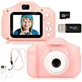 Barwa Camera for Kids, Kids Camera Toy Camera for 3-10 Year Old Girls and Boys(32GB TF Card Included)