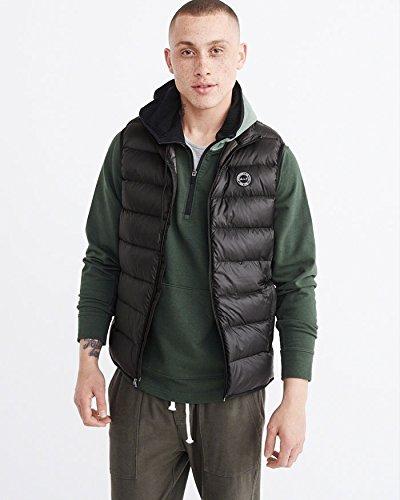 (アバクロンビー & フィッチ) Abercrombie & Fitch ダウンベスト:Packable Lightweight Puffer Vest - Black ブラック [並行輸入品]