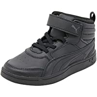 PUMA Juniors Puma Rebound Street V2 L V Ps, Black, Sneakers