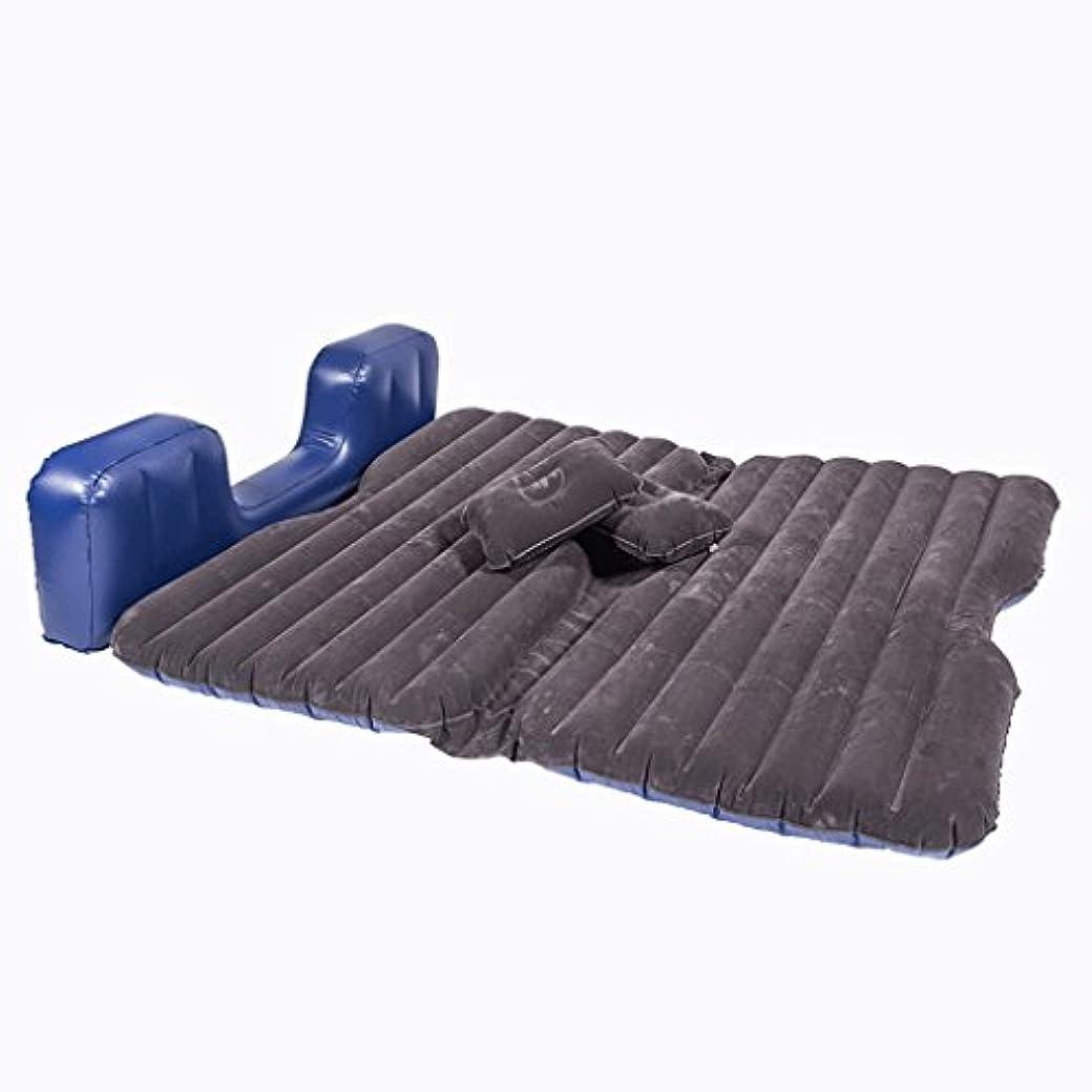 方法ペルメル地下鉄QL エアベッド - カーインフレータブルベッドは、テントとして使用することができますマットアウトドアピクニックマットカーリアーシート子供の睡眠パッドカーワゴン エアマットレス