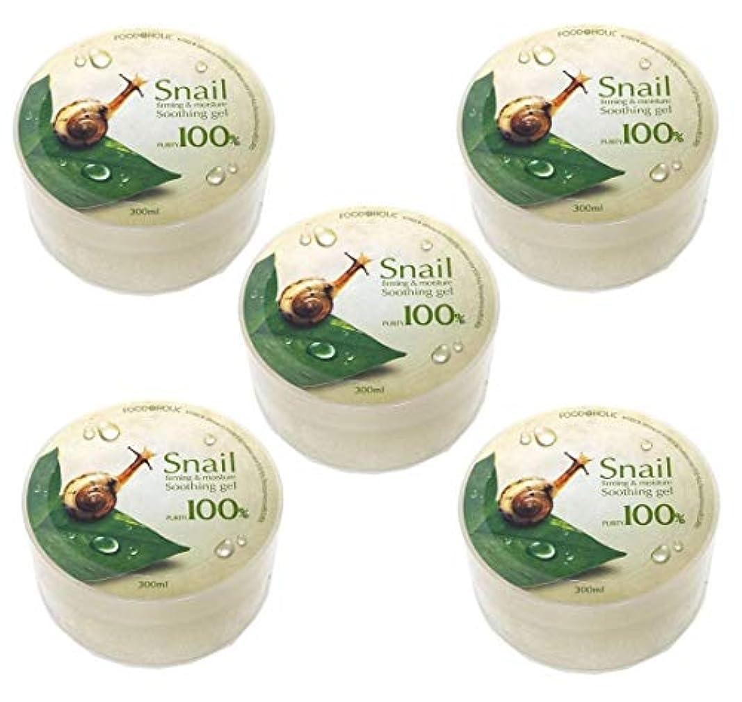 回想顕著バー[Food A Holic] スネイルファーミング&水分スージングジェル300ml X 5ea / Snail Firming & moisture Soothing Gel 300ml X 5ea / 純度97% /...