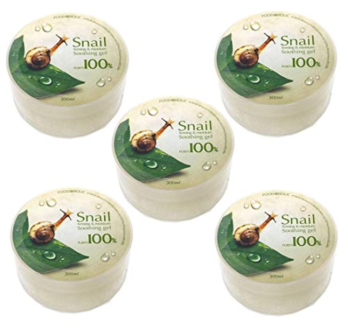 狂信者勧めるスイッチ[Food A Holic] スネイルファーミング&水分スージングジェル300ml X 5ea / Snail Firming & moisture Soothing Gel 300ml X 5ea / 純度97% /...
