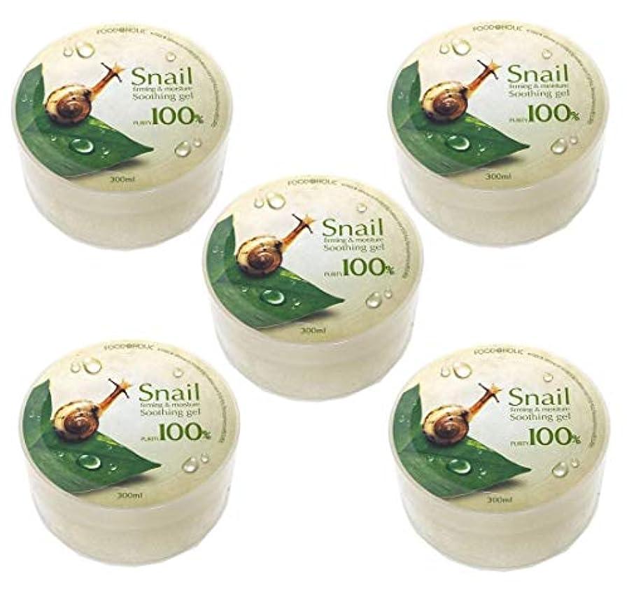 頭痛出しますアコー[Food A Holic] スネイルファーミング&水分スージングジェル300ml X 5ea / Snail Firming & moisture Soothing Gel 300ml X 5ea / 純度97% /...