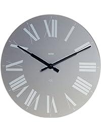 【正規輸入品 メーカー保証付き】 ALESSI アレッシィ Firenze フィレンツェ ウォールクロック グレー 12 G