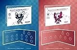 東京2020オリンピック・パラリンピック競技大会記念貨幣収納ケース 2点セット ミライトワ ソメイティ