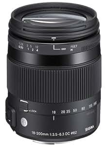 SIGMA 高倍率ズームレンズ Contemporary 18-200mm F3.5-6.3 DC MACRO HSM ペンタックス用 APS-Cサイズ 885618