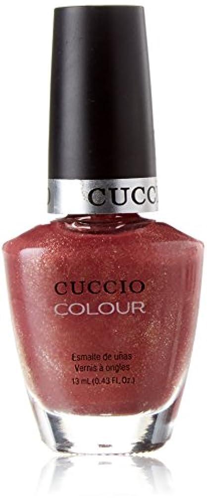ホイットニーオアシス光沢Cuccio Colour Gloss Lacquer - Blush Hour - 0.43oz / 13ml