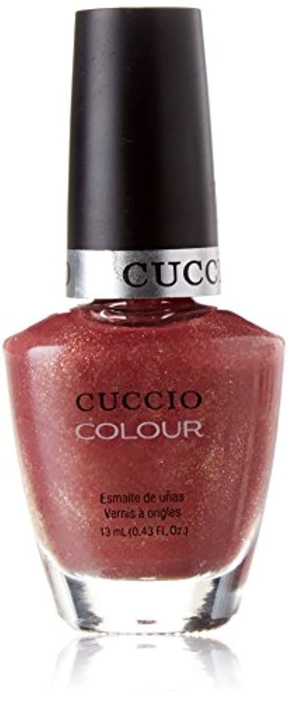 推進力選出する待つCuccio Colour Gloss Lacquer - Blush Hour - 0.43oz / 13ml