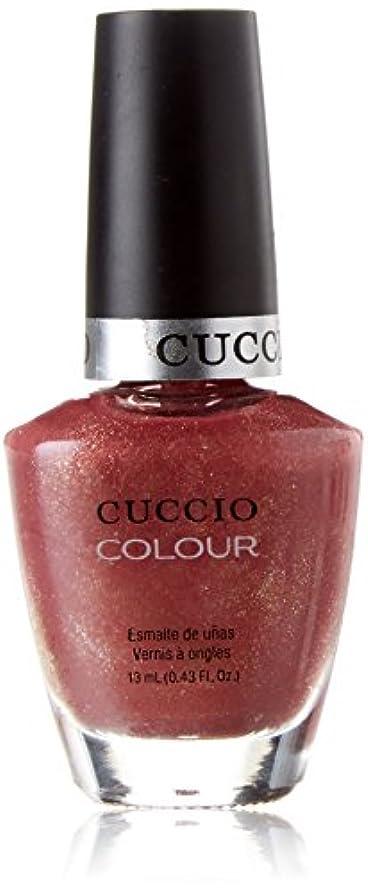 描写民主主義軽蔑するCuccio Colour Gloss Lacquer - Blush Hour - 0.43oz / 13ml