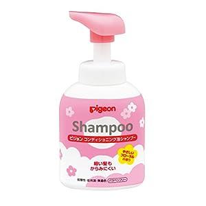 ピジョン コンディショニング 泡シャンプー やさしいフローラルの香り 350ml