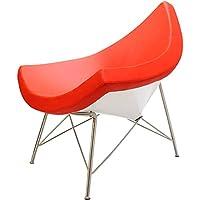 ココナッツチェア レッド/ジョージ・ネルソン作/新品 定価298000円 George Nelson Coconut Chair デザイナーズ パーソナルチェア いす イス 椅子