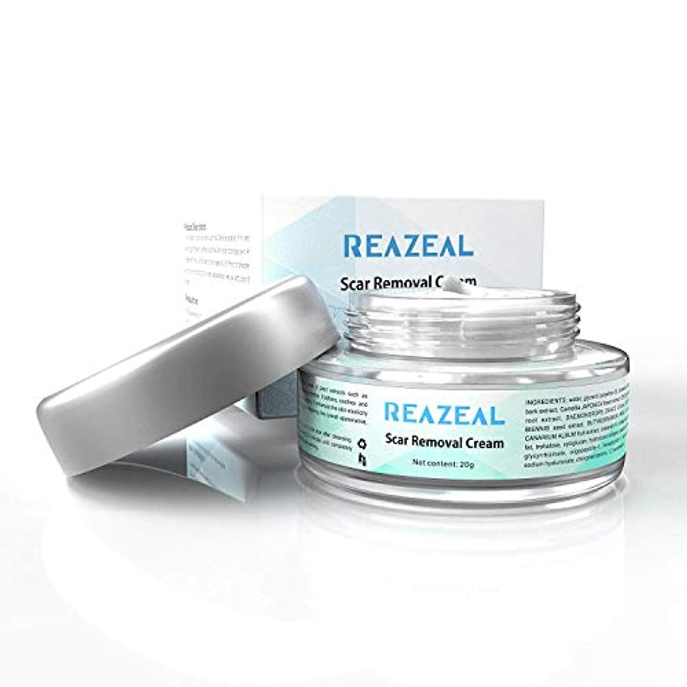 雑品酸素居住者Scar Cream Acne Scar Removal Cream for Old & New Scars on Face & Body Scar Treatment for Cuts Natural Herbal Extracts...