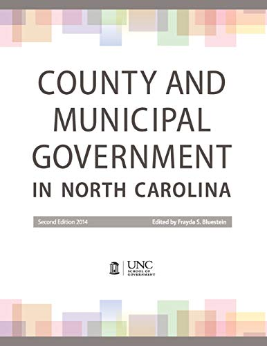 Download County and Municipal Government in North Carolina 1560117672