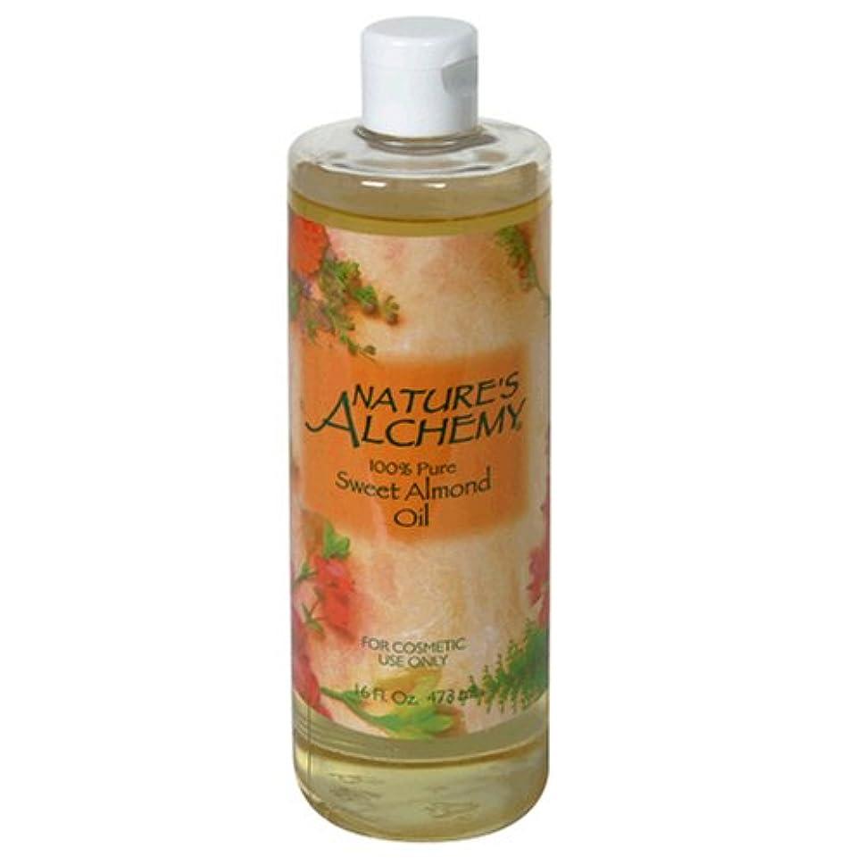 インデックスすぐにカビNature's Alchemy Carrier Oil Sweet Almond 16oz