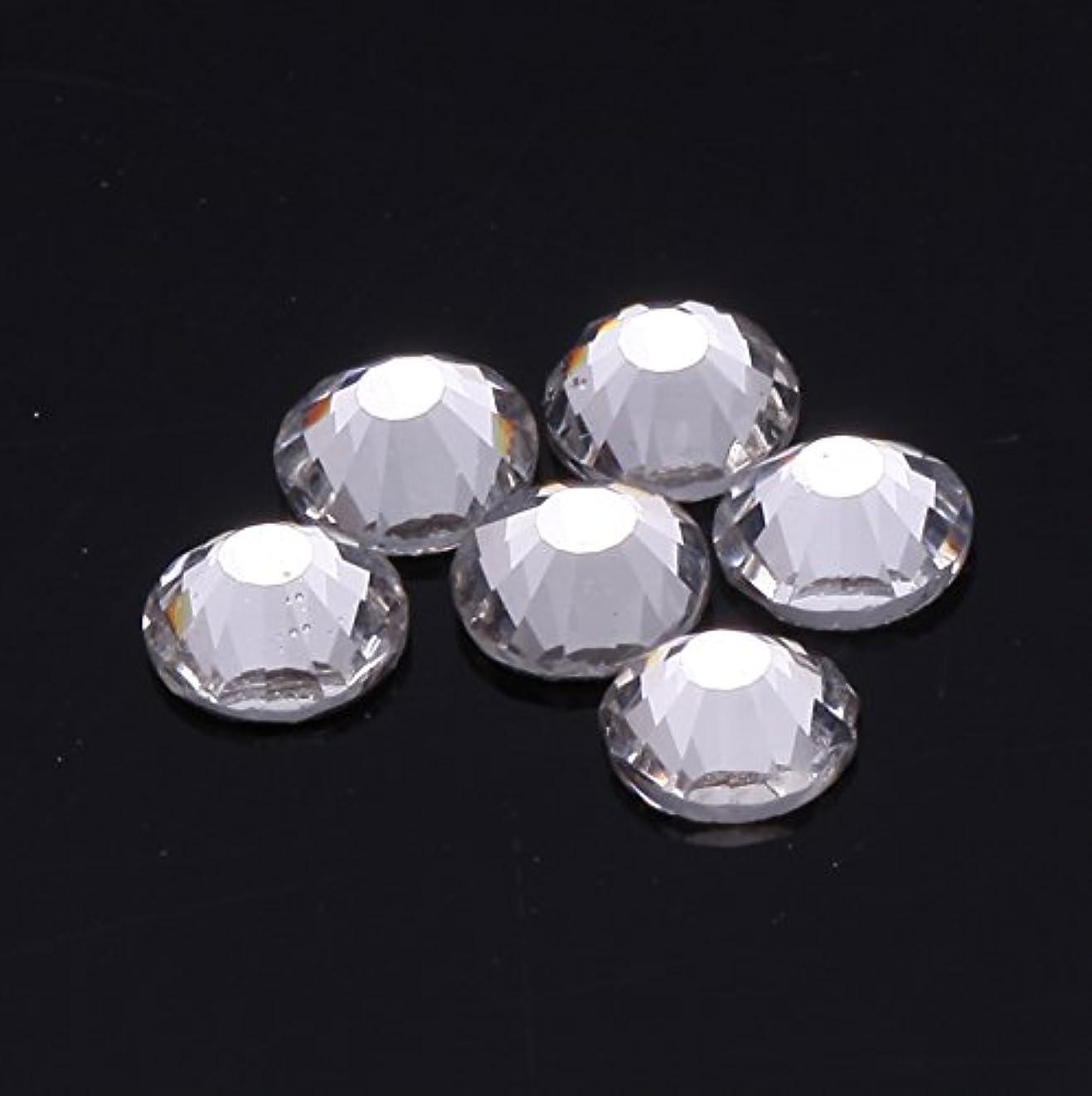 1440粒ガラス製ラインストーン ネイル デコパーツ クリスタル (1.2mm (SS3) 約1440粒)
