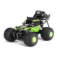 RC車載機配備0.3MP WiFi攝像頭越野玩具男孩和女孩,無人機遙控車遙控車男孩攀爬RC車, green