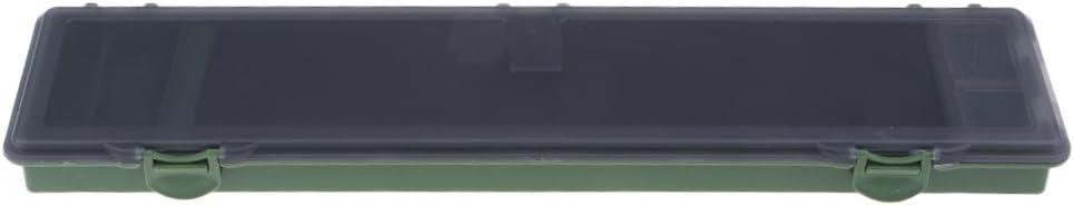 Baosity 釣りリグケース タックルボックス 蓋付き 防水 環境に優しい グリーン