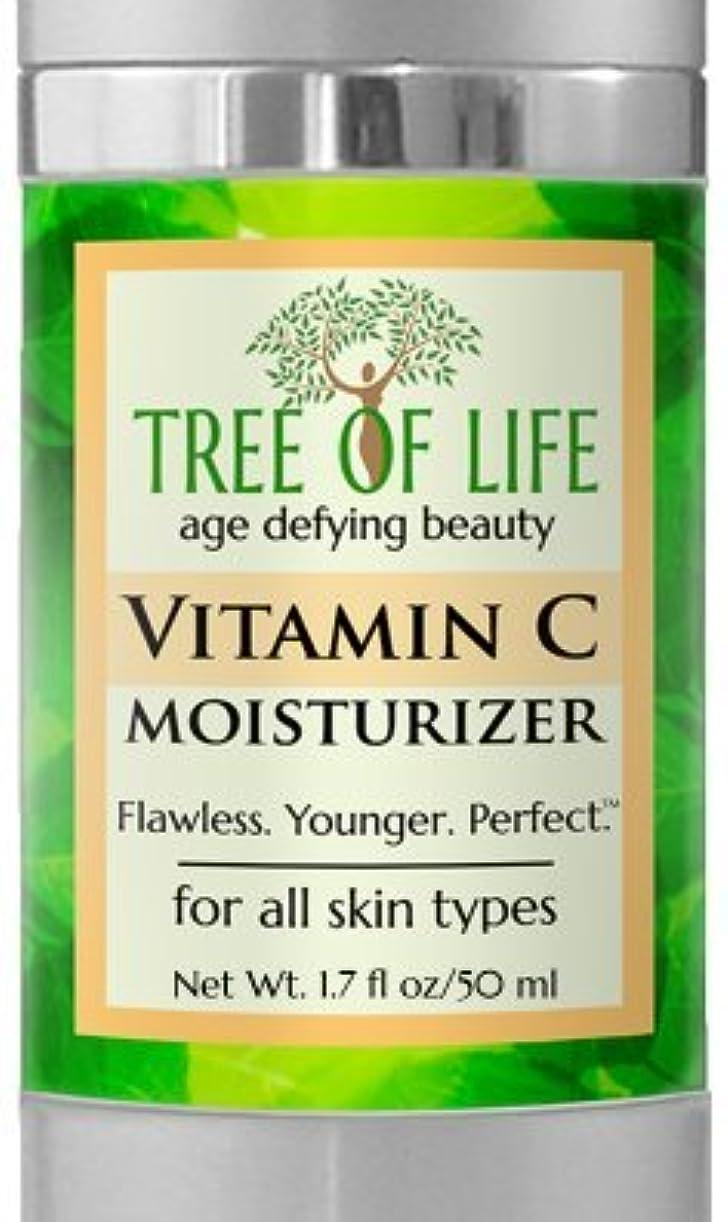 傷跡持ってる連想Tree of Life Beauty ビタミン C モイスチャライザー クリーム 顔 肌 用