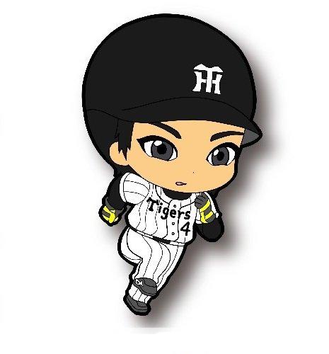 阪神タイガース 選手CUTEラバーストラップ:4番・上本選手