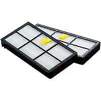 BYBREGAL® iRobot Roomba 交換用ダストカットフィルター2個セット <私はこれで十分>【980/960/885/880/876/875/871/870専用】 掃除ロボット ルンバ 消耗品 互換 部品
