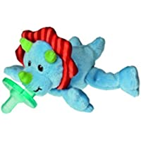 Plush Okey Dokey Triceratops Dinosaur Wubbanub赤ちゃんおしゃぶり
