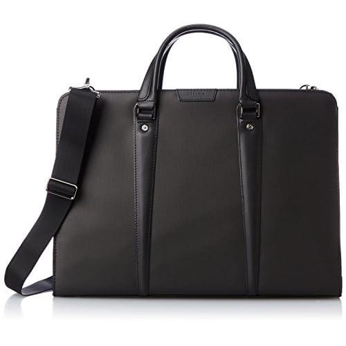 [ウルティマトーキョー] ultima tokyo レナートII ビジネスブリーフバッグ ショルダーベルト付き 54363 01 (ブラック)