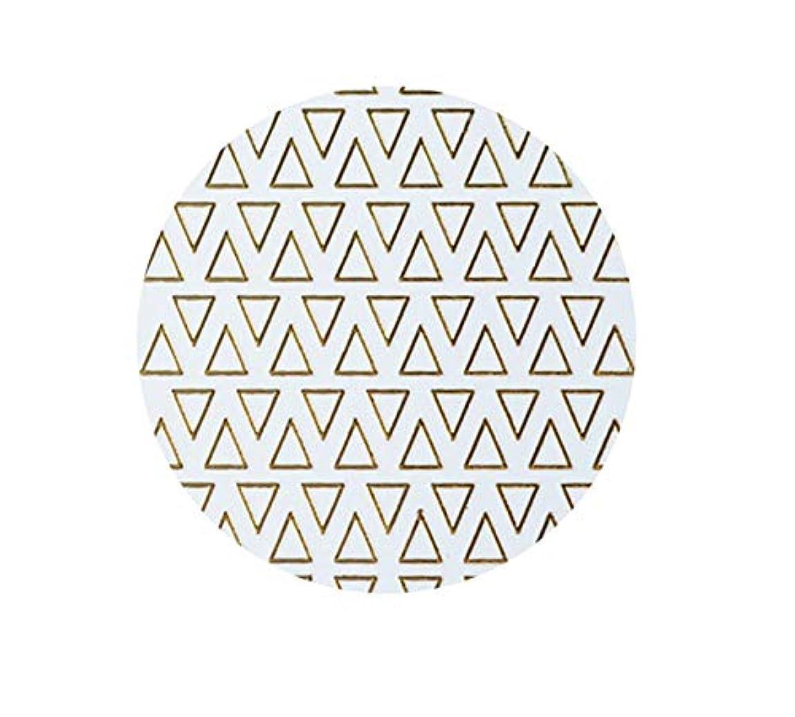 セール浸透するなめらかなゴールドフレームシェイプアップリケ金メッキ金属三角形オーバルネイルアートステッカーステッカー,T-8 small size trian