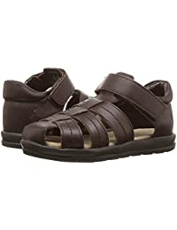 [Polo Ralph Lauren(ポロラルフローレン)] キッズサンダル?靴 Donevan (Toddler) Chocolate Full Grain Leather 4 Toddler (12cm) M