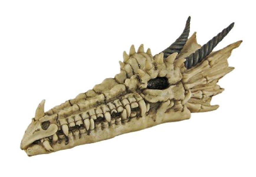 カイウスとげのある来てCool Dragon Skull Stick Incense Burner