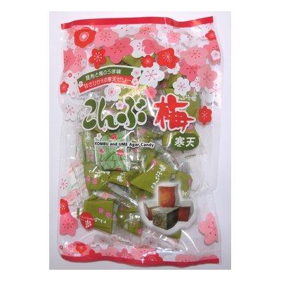 津山屋製菓 こんぶ梅 220g 12コ入り
