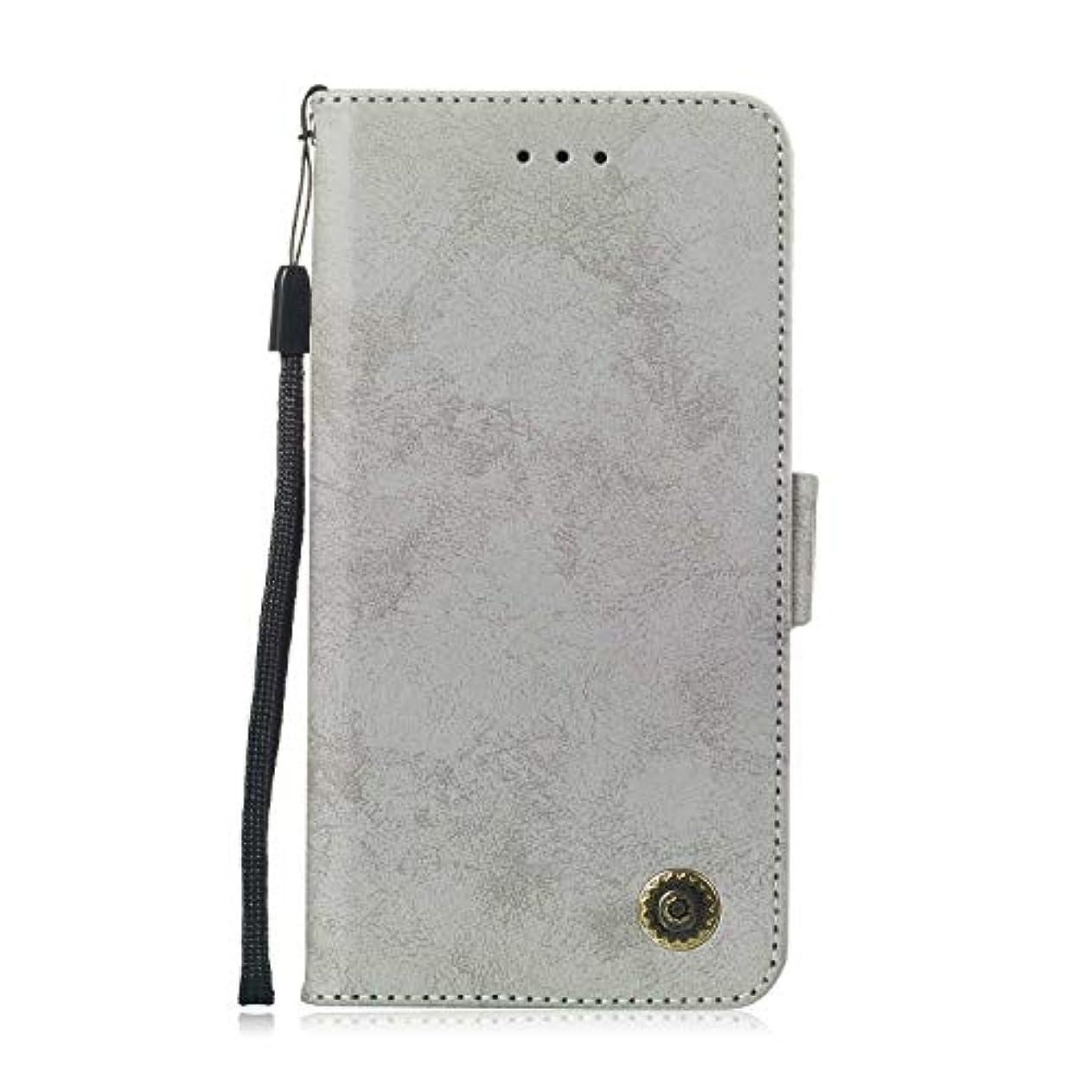 バスタブ自発散文Zeebox® Huawei Mate 20 Lite 手帳型ケース Huawei Mate 20 Lite 手帳型カバー 財布型 合皮PUレザー マグネット式 保護ケース カード収納 スタンド 機能 (グレー #5)