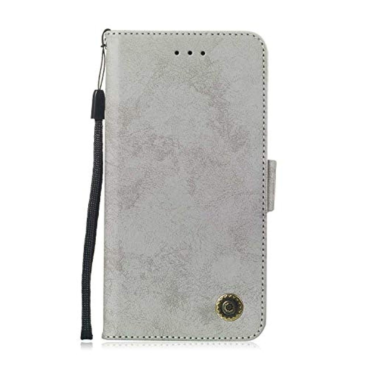 遺産気質学生Zeebox® Huawei Mate 20 Lite 手帳型ケース Huawei Mate 20 Lite 手帳型カバー 財布型 合皮PUレザー マグネット式 保護ケース カード収納 スタンド 機能 (グレー #5)