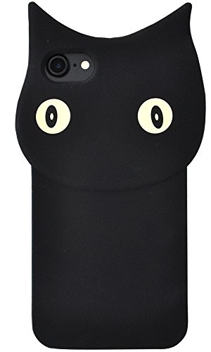 PLATA iPhone7 / iPhone8 ケース 黒猫...
