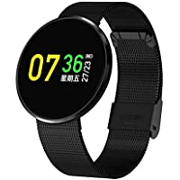 Heart Rate Monitor,Cf006H Smart Bracelet LCD Color Screen Best Fitness Tracker Multifunction Smart Bracelet with Sports Pedometer Calories Pedometer and Wristband Sleep Monitor