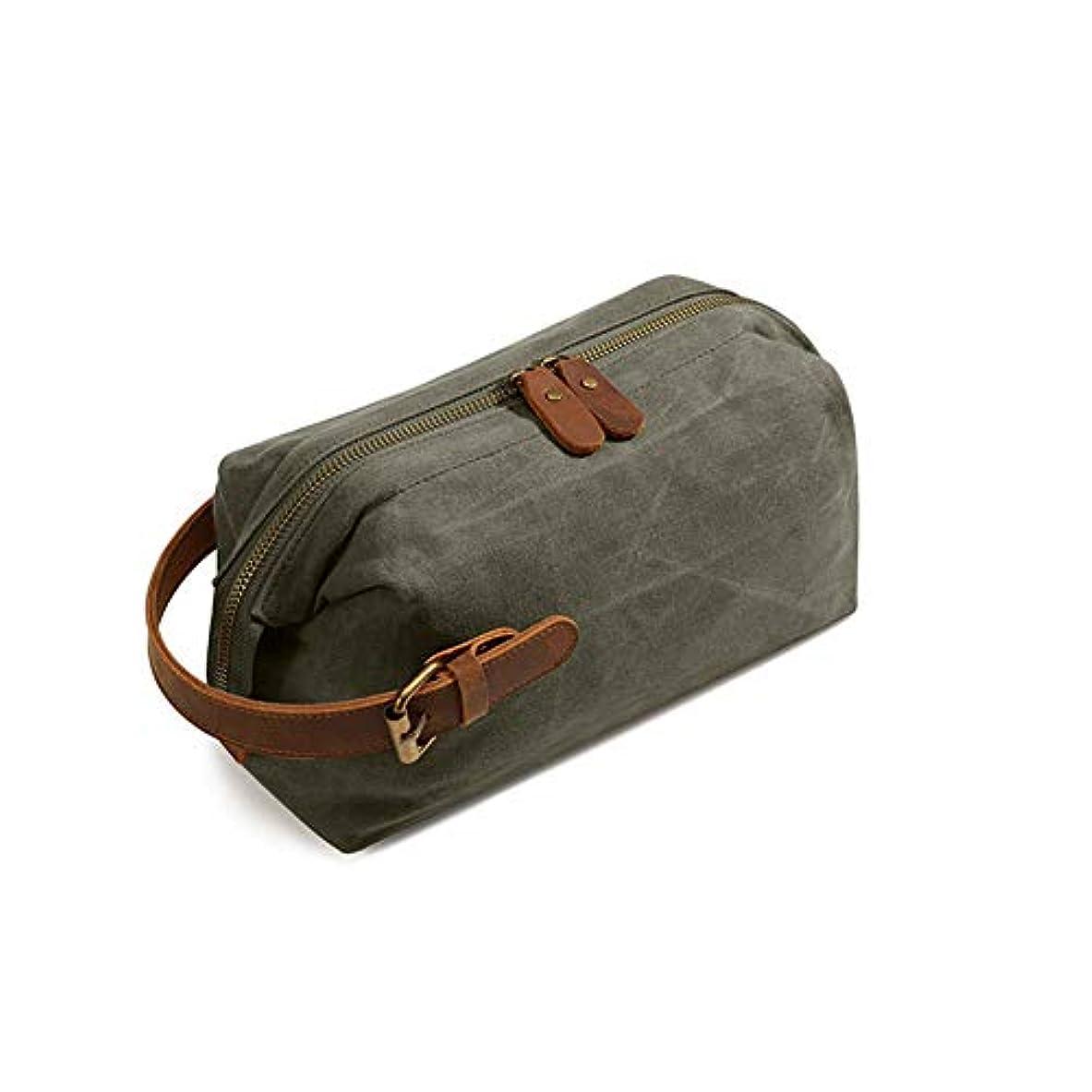 コンピューターを使用するジョージスティーブンソン感じ多機能トラベルコスメティックバッグ、休日やビジネス旅行のためのポータブルハンギング防水大容量収納袋,グリーン