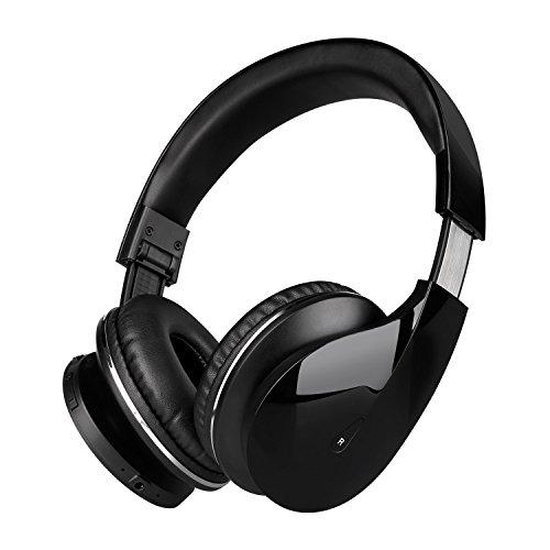 Mixcder Bluetooth 4.0 ヘッドホン密閉型ヘッドフォン ワイヤレスヘッドセット高音質 折り畳み式 軽量(Drip-ブラック) 【Bluetooth技適認証済】